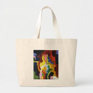 Farbige Formen III by August Macke Jumbo Tote Bag