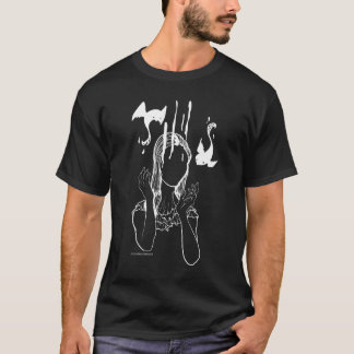 Fare Shirt creepy doll angel ghost