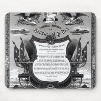 Farewell Address of General Robert E. Lee Mouse Pad