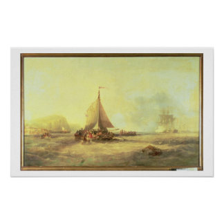Farewell, Fair England, 1858 Poster