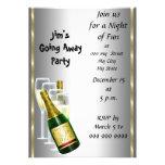 Farewell Party Invitation Card Card
