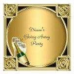 Farewell Party Invitation Card Good Bye Custom Invitation