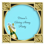 Farewell Party Invitation Card Good Bye Announcement