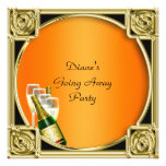 Farewell Party Invitation Card Good Bye Personalized Invitations