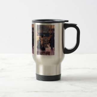 Farewell to the Mersey by James Tissot Coffee Mugs