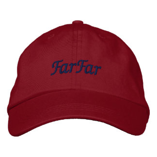FarFar My Scandinavian Father's Father Swedish Embroidered Hat