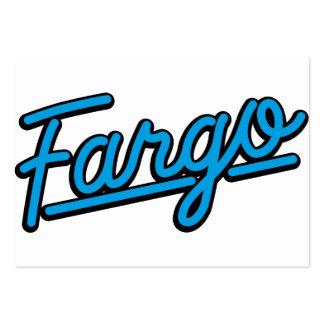 Fargo in cyan business cards