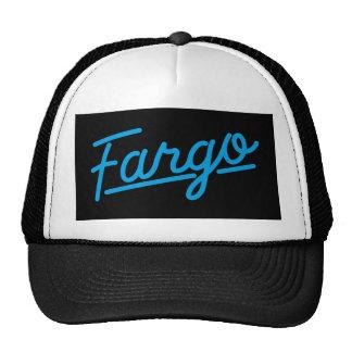 Fargo in cyan hat