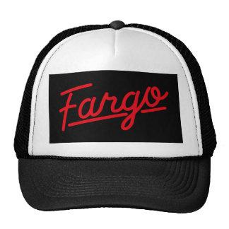 Fargo in red trucker hat