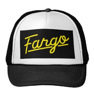 Fargo in yellow hat