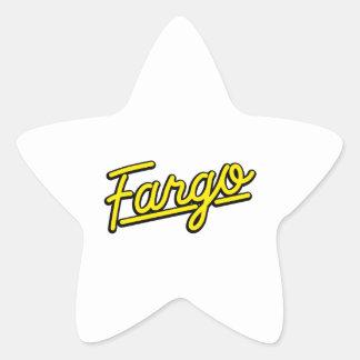 Fargo in yellow star stickers