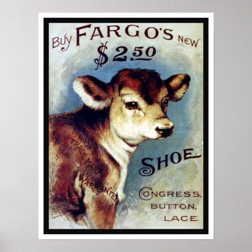 FARGO SHOES PRINT