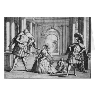 Farinelli, Cuzzoni and Senesino in Handel's Card