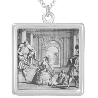 Farinelli, Cuzzoni and Senesino in Handel's Silver Plated Necklace