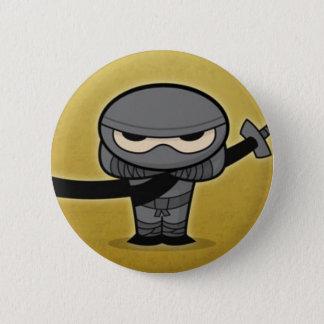 Farkin' Ninja 6 Cm Round Badge