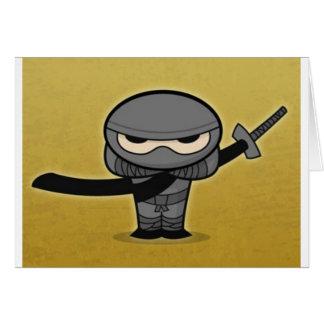 Farkin' Ninja Card