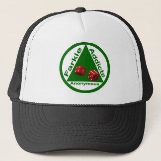 Farkle Addicts Anonymous Trucker Hat