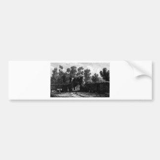 Farley Castle Bumper Sticker
