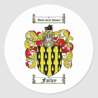 FARLEY FAMILY CREST -  FARLEY COAT OF ARMS STICKER