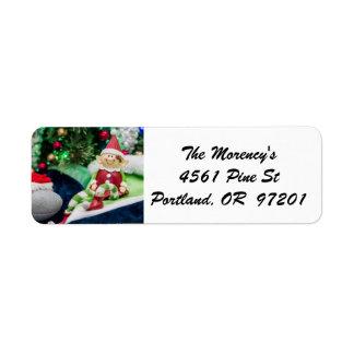 Farley the Elf Address Labels