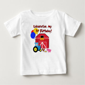 Farm 1st Birthday Baby T-Shirt