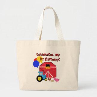 Farm 1st Birthday Bags