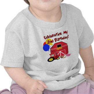 Farm 2nd Birthday T-shirts