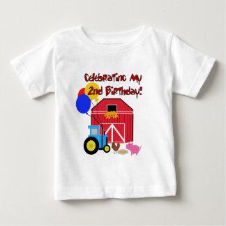 Farm 2nd Birthday Tshirts and Gifts