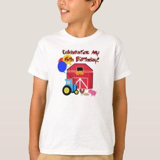 Farm 6th Birthday T-Shirt