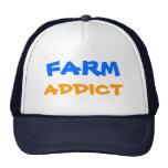 FARM, ADDICT, Designs By Che Dean Trucker Hats
