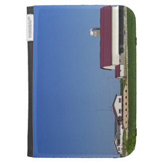 Farm and soybean crop north of Eau Claire Kindle Case