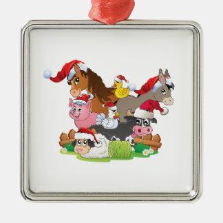 Farm Animal Christmas Christmas Tree Ornaments