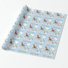 Farm Animal Personalised Wrapping Paper