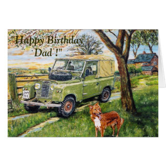 """FARM"" Birthday Card For Dad"