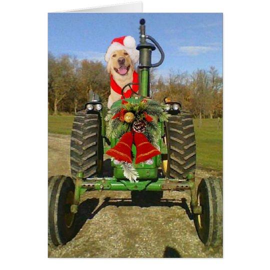 Farm Blessing Christmas Card