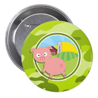 Farm; bright green camo, camouflage buttons