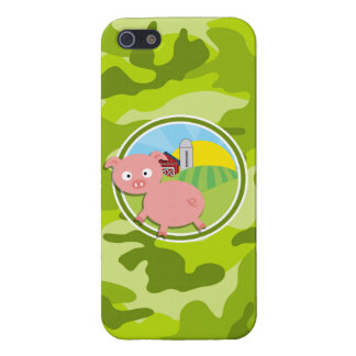 Farm bright green camo camouflage covers for iPhone 5