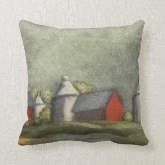 Farm Buildings And Silos   ( Throw Cushion
