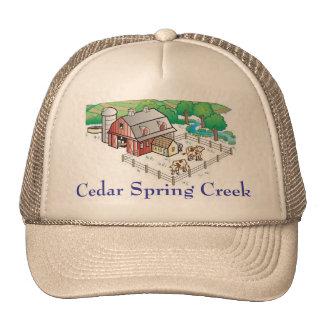 farm, Cedar Spring Creek Trucker Hat