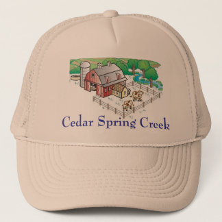 farm, Cedar Spring Creek Trucker Hat