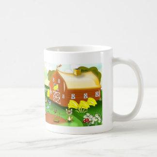 Farm Cute Basic White Mug