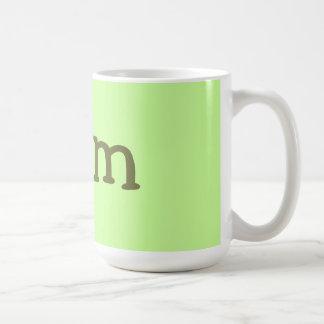farm food basic white mug