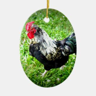 Farm Fowl Christmas Ornament