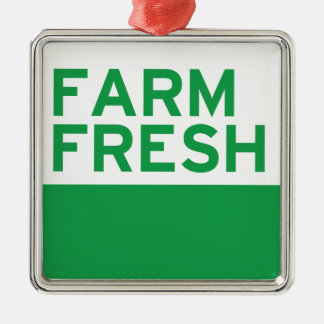 Farm Fresh Christmas Ornament