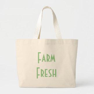 Farm Fresh Large Tote Bag
