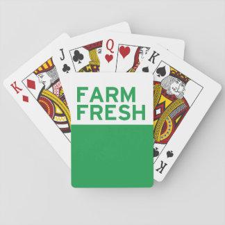 Farm Fresh Playing Cards