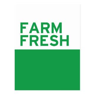 Farm Fresh Postcard