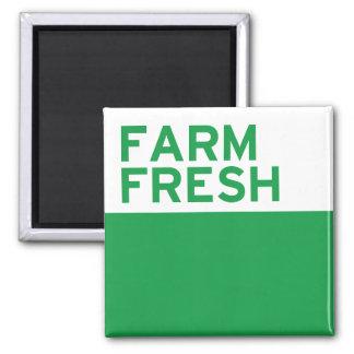 Farm Fresh Square Magnet