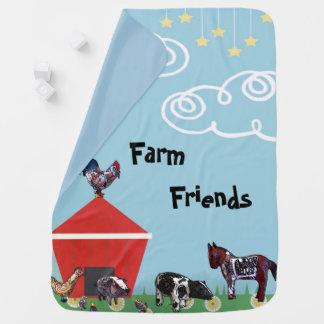 Farm Friends Baby Blanket