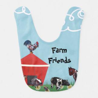 Farm Friends Bib